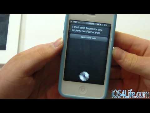 iTweak.tv - Tweeting with Siri Coming soon to Cydia Near You!