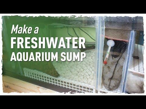 Make a Freshwater Aquarium Sump (150g Redo pt.1)