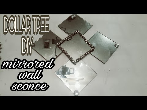 DOLLAR TREE DIY WALL SCONCE  $3 TO MAKE🕉