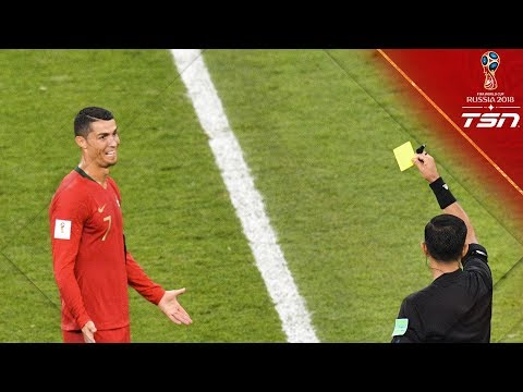 Did Ronaldo deserve to receive a RED CARD here?