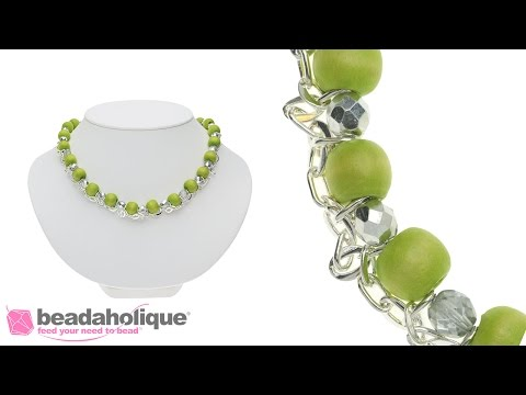 How to make the Limeade Spritz Necklace