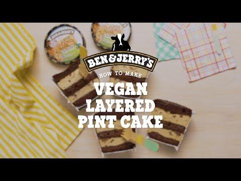 Vegan Layered Pint Cake | Ben & Jerry's