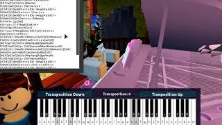 Roblox Piano Camila Cabello Havana Notes In The Description Not