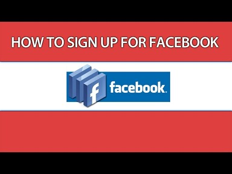 Facebook Sign Up - How To Sign Up For Facebook