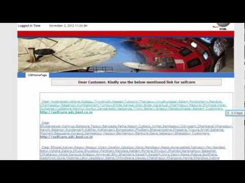 check ur bsnl broadband usage 2012