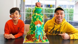 Jason Birthday Party with his Family