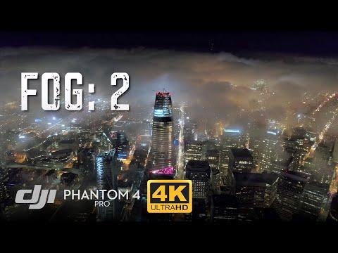 San Francisco Fog Low Light Timelapse Test / Phantom 4 Pro [4K]