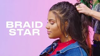 How to Style a Five-Strand French Braid feat. Kamie Crawford   Braid Star    ELLE