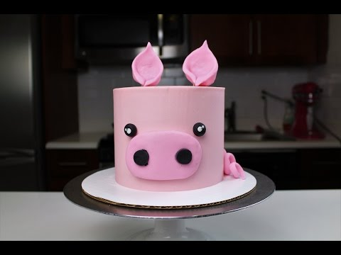 Easy Baby Pig Cake I CHELSWEETS