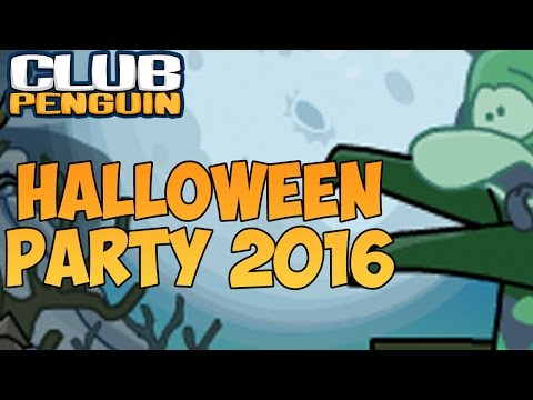 Club Penguin: Halloween Party 2016 Walkthrough