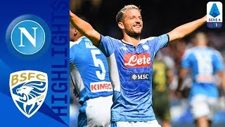 Napoli 2-1 Brescia | Mertens and Manolas Seal Win Depsite Ballotelli Strike | Serie A