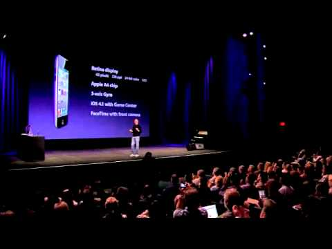 Apple September 2010 Music Event-The iPod Touch HD w Facetime