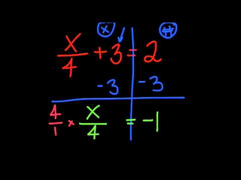 Solving Equations with variables on one side