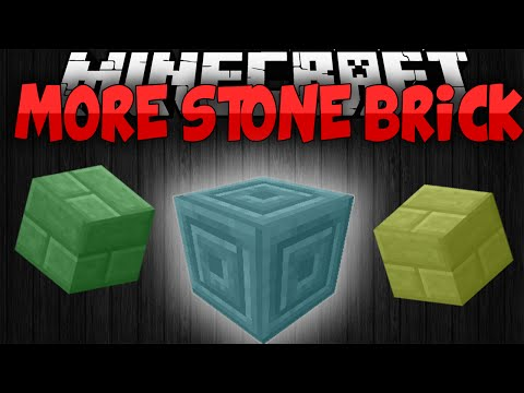 Minecraft Mods || MORE STONE BRICK!!! || New Colors!!! || Mod Showcase [1.7.10]