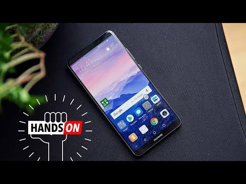 Huawei Honor View 10 hands on  Looking