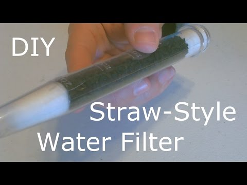 Homemade Water Filter - The DIY