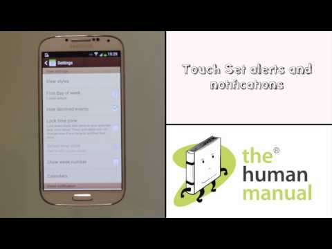 How to change your S Planner calendar notifications on your Samsung Galaxy S4   The Human Manual