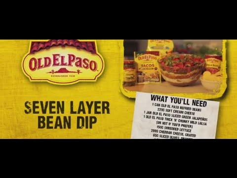 Seven Layer Bean Dip | Andy Bates | Old El Paso