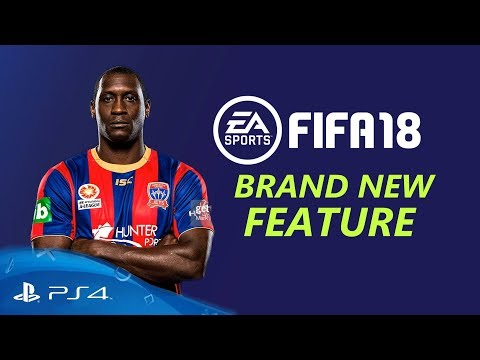 FIFA 18 - BRAND NEW GAMEPLAY FEATURE (INVISIBLE PLAYER GLITCH)