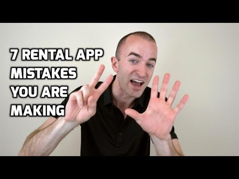 Rental Application Process Mistakes You're Making! | 7 Rental Application Mistakes to Avoid