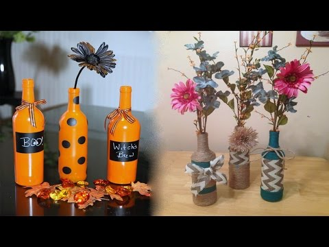 What Can You Make With Glass Bottles
