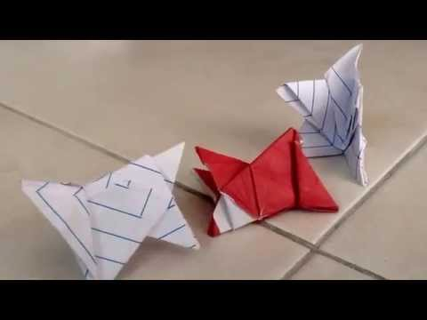 The Origami Wrestlers.