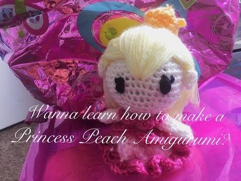 Amigurumi Princess Peach! | CandyCorporation