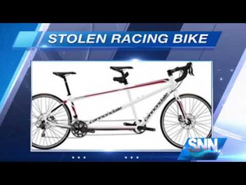SSN: Blind athlete's racing bike stolen