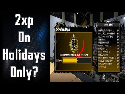 Why Does 2K Only Do Double XP on Holidays?