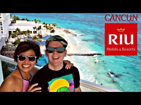 RIU CANCUN HOTEL MEXICO - AWESOME RESORT! - CHICHEN ITZA - XPLOR PARK - COCO BONGO NIGHTCLUB