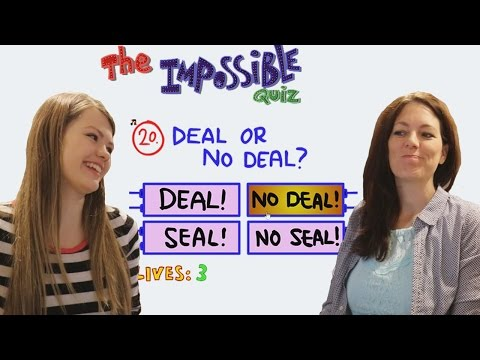 The Impossible Quiz - Parents Play