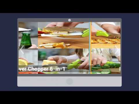 Kitchen Shears With Built-in Cutting Board Clever Cutter