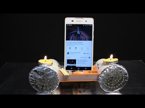 How to make a phone speaker at home - With Paper Cup