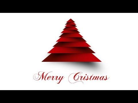 How to Create Christmas Tree Card | Photoshop Tutorial