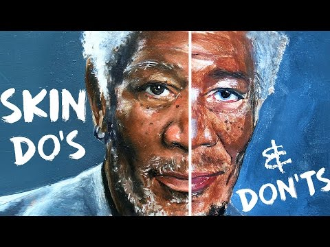 Do's and Don'ts of Skin Tones Painting | How To Paint Skin