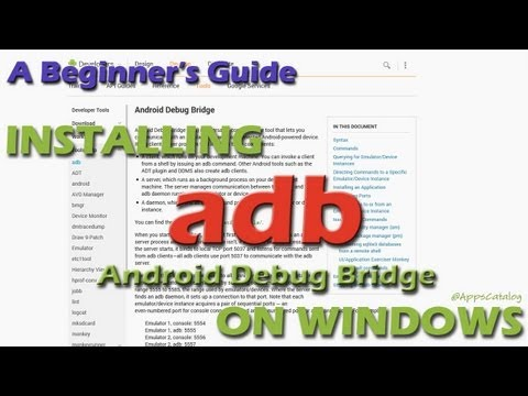 A Beginner's Guide to Installing adb [Android Debug Bridge] on Windows