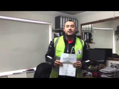 Aleksejus Simkunas... Lithuanian passed motorcycle training licence