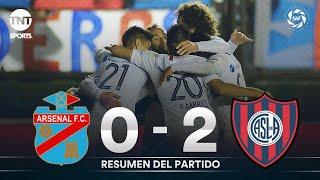Resumen de Arsenal vs San Lorenzo (0-2) | Fecha 4 - Superliga Argentina 2019/2020
