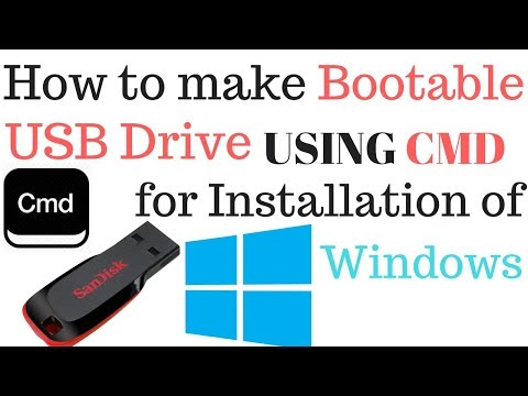 How to Make Bootable USB Drive and Flash Windows File in it
