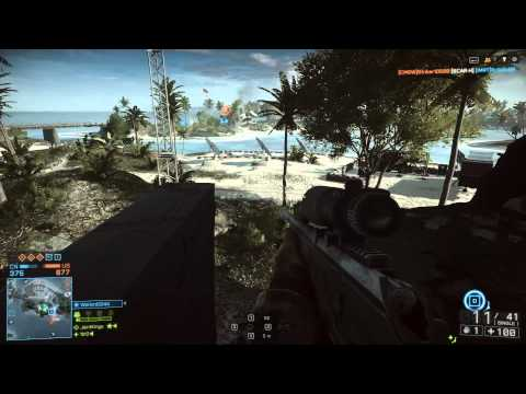 Battlefield 4 Single and Multiplayer Gameplay Recorded with Shadowplay at 1080P GTX660 i5 2500K