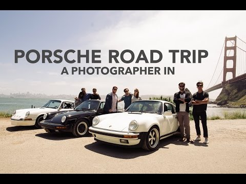 Old Porsches - Road Trip Across America - A Photographer In