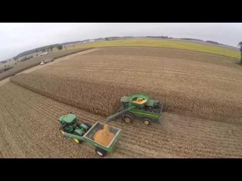 Corn Harvest 2016 - Arcanum Ohio - Specialty Hybrids