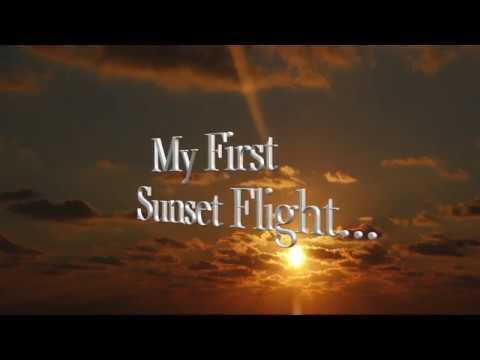 My First Sunset Flight