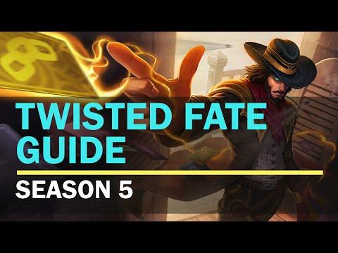 League of Legends. Twisted Fate Guide HD. Season 5. Diamond Mid.