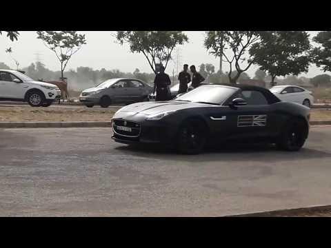 Fast cars in Jaipur.