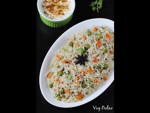 Pulao recipe | Veg pulao in pressure cooker recipe |  Vegetable pulao