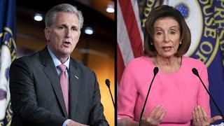 WATCH LIVE: Pelosi, McCarthy hold news conferences as coronavirus stimulus bill heads to House