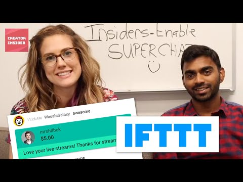 How to make more Super Chat $$ and get more Members with IFTTT