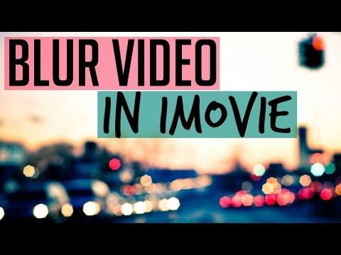 Blur Video in iMovie