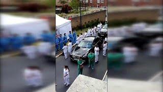 Belgien: Krankenhauspersonal richtet Protestaktion gegen Wilmès